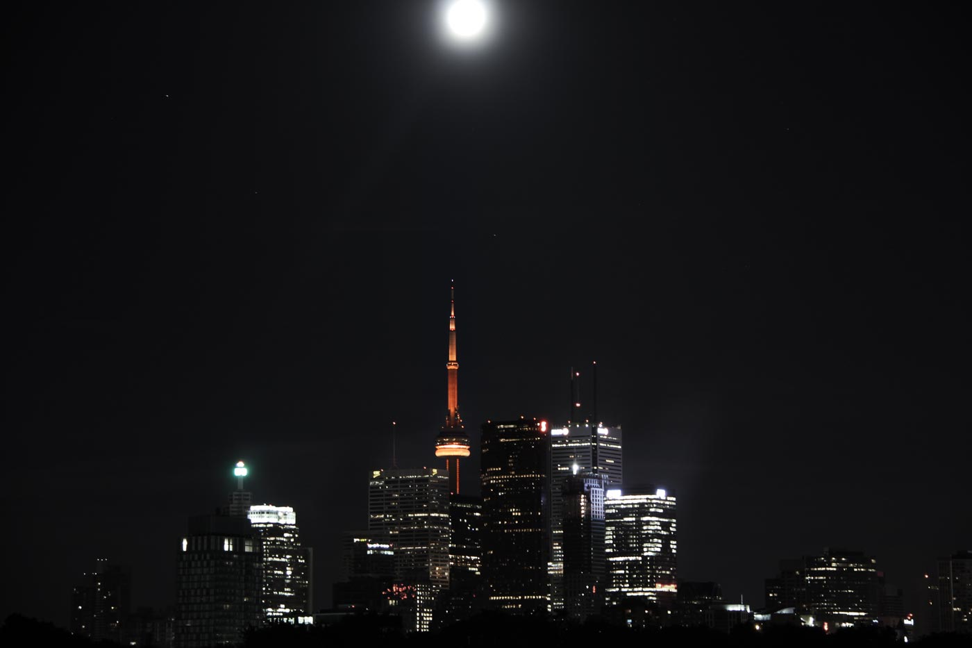 City And The Moon