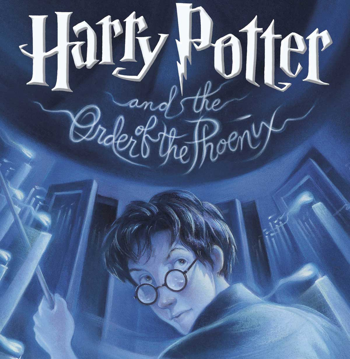 Harry Potter and The Order of Phoenix book cover