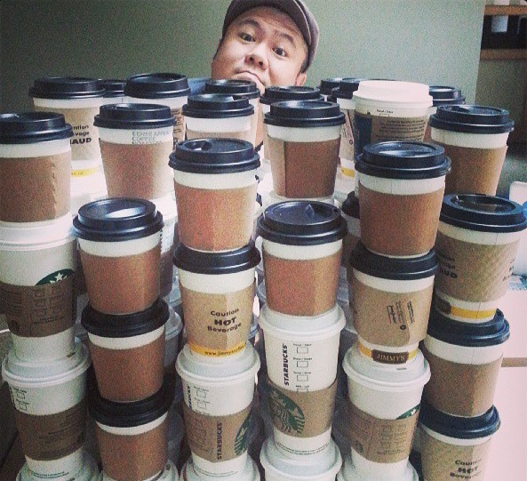 Meet Ron, a Starbucks Coffee Cup Artist | ArtSocket Gallery Magazine