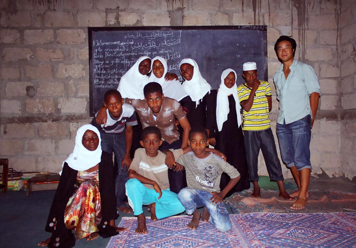 My buddy Omar's volunteer English school that I visited